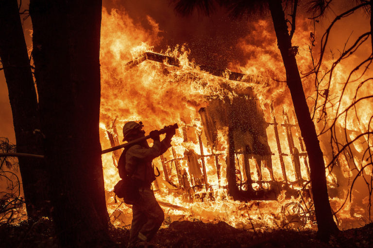 The Mainstream Media Is Lying About the California Fires