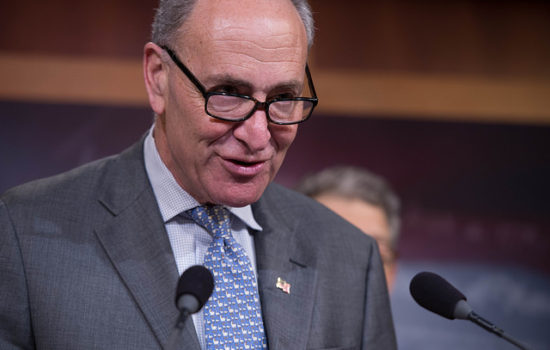 Chuck Schumer Earns Progressive Ire With Joe Manchin Promotion