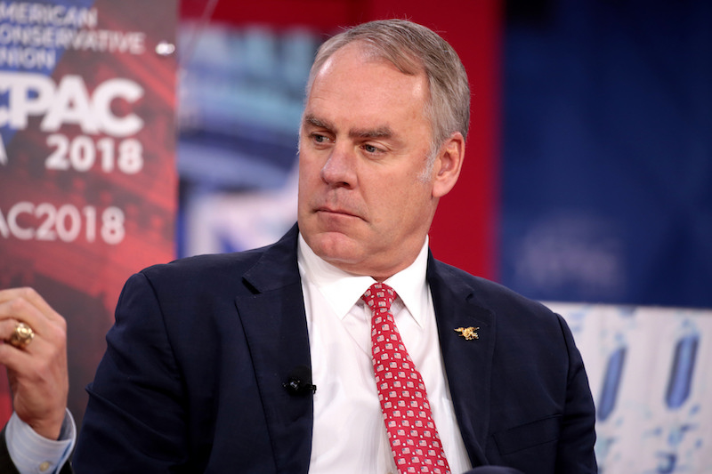 Secretary Ryan Zinke To Step Down
