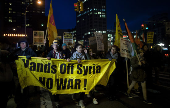 How to End the U.S. War on Syria