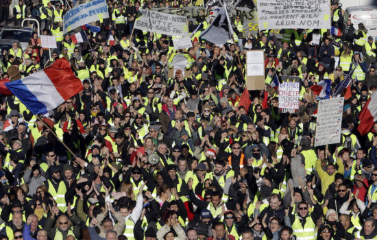 Yellow Vest Protesters Go Global With Their Fight