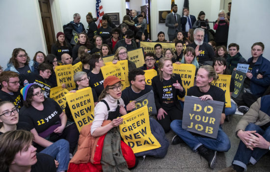 Report Finds Little Media Interest in 'Green New Deal'