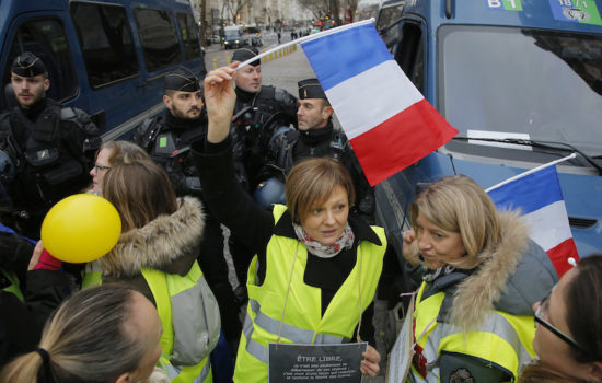 Women March in France to Reclaim Yellow Vest Movement