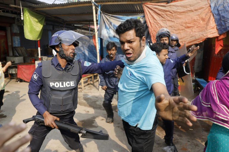 Garment Workers in Bangladesh Promised a Raise After Strike