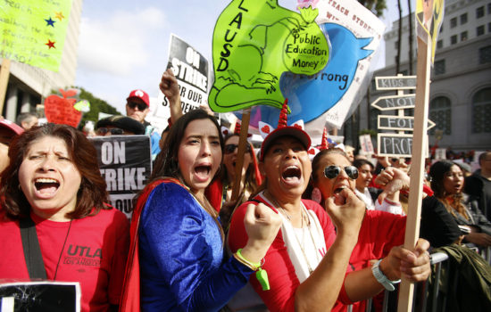 Truthdiggers of the Month: The Striking, and Winning, L.A. Teachers