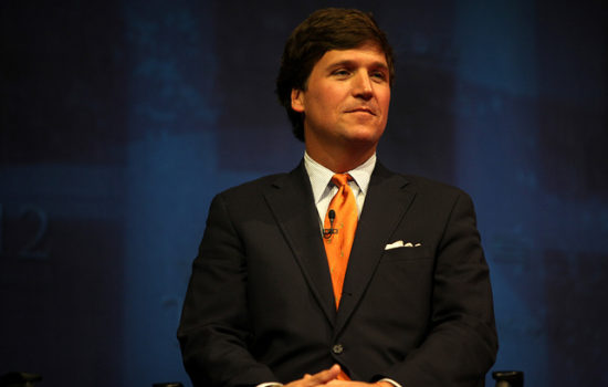 Listen to Tucker Carlson Flip Out After Being Exposed by Dutch Historian
