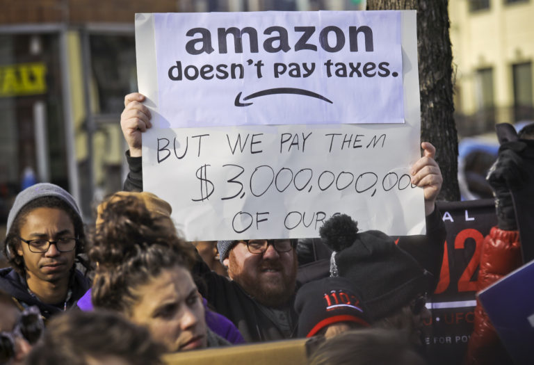 Not Welcome: 'Petulant Child' Amazon Cancels New York HQ Plans