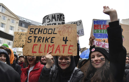 Students Plan Worldwide Strike to Demand Climate Action
