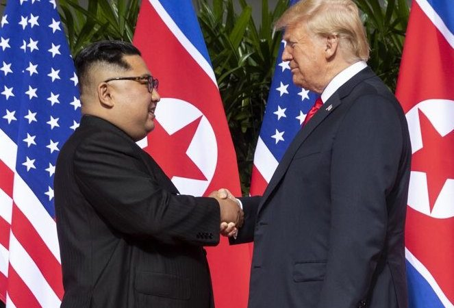 Possible Peace Declaration Looms Over Trump-Kim Summit