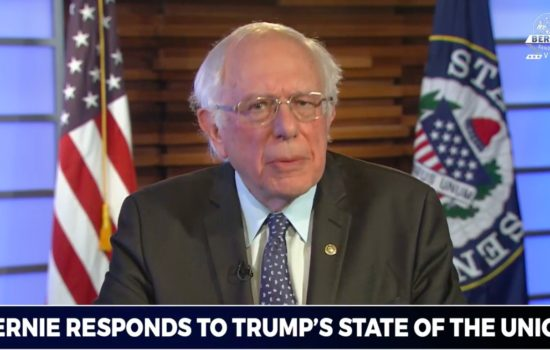 Sanders Highlights American Struggles in Fierce SOTU Response