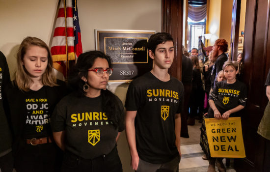 Sunrise Movement Turns Up the Heat on Congress