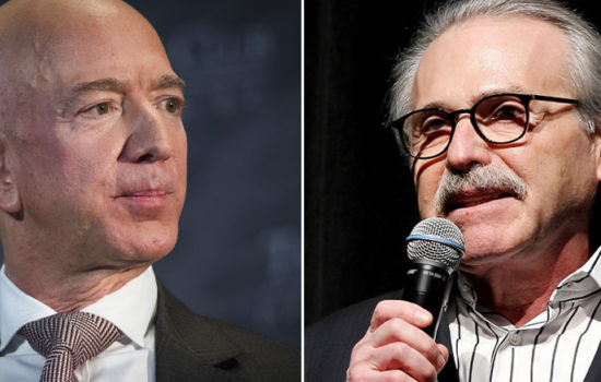 Threat to Bezos Not Extortion, National Enquirer Lawyer Says