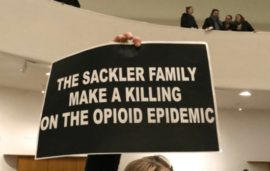 Protest Erupts Over Guggenheim Museum's Ties to Big Pharma