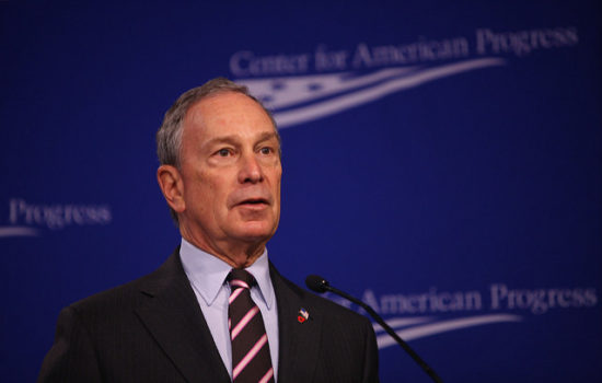Former NYC Mayor Bloomberg Won't Run for President in 2020