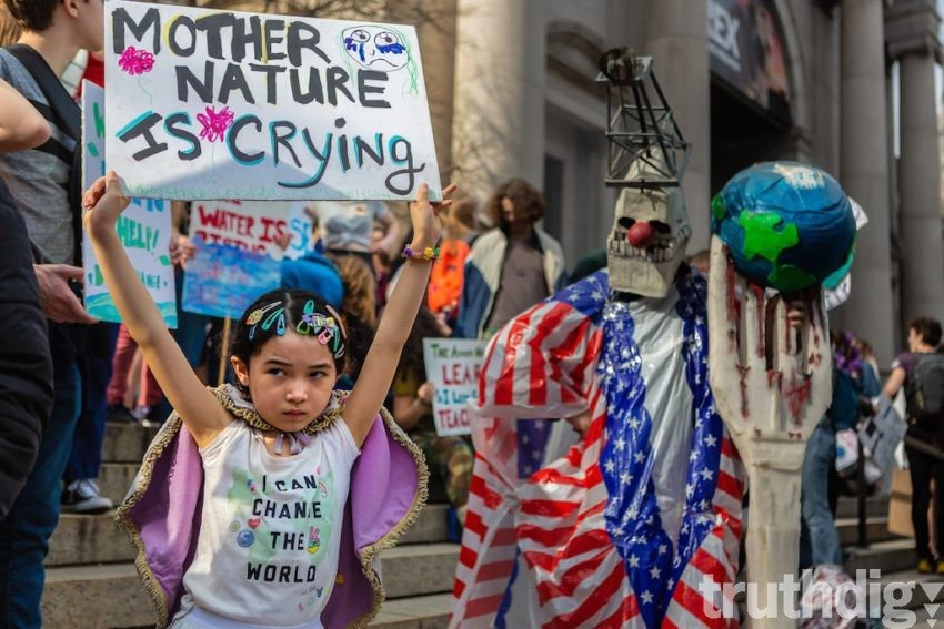 Ours Wont Be As Fierce This Time But >> Our Kids Know We Re Failing Them On Climate Change Truthdig
