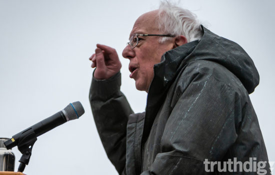 Bernie Sanders Launches 2020 Bid With Threats to Ruling Elite