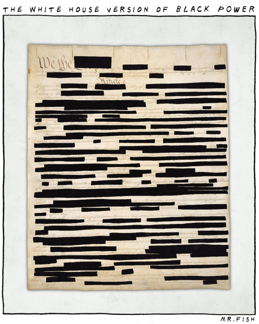 Redactions Aren't Just Hurting Democracy—They're Destroying It