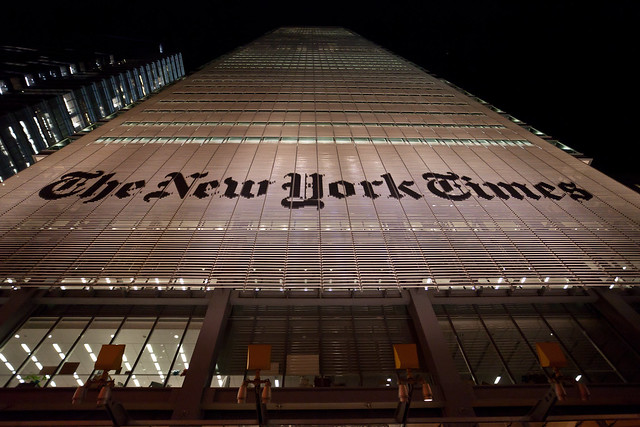 Racism Is Part of the New York Times' Brand