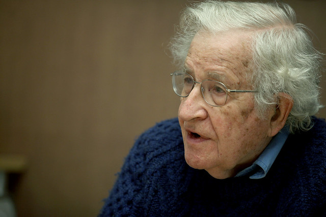 Noam Chomsky: The Real Election Meddling Isn't Coming From Russia