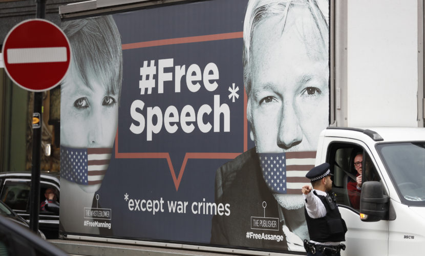 Assange Lawyers Issue Stark Warning to Journalists Around the World