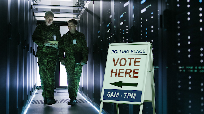 Microsoft and the Pentagon Are Quietly Hijacking U.S. Elections