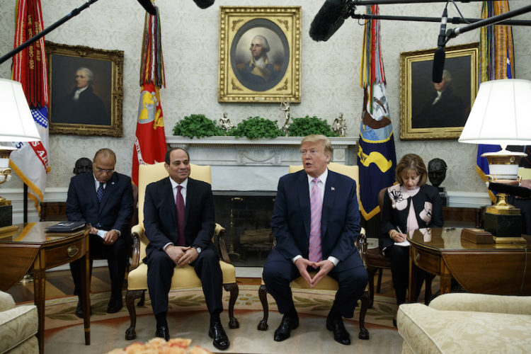 Trump's America and Egypt's Dictatorship Deserve Each Other