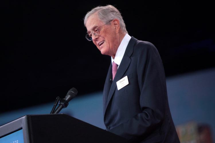 How the New York Times Whitewashed David Koch's Toxic Legacy