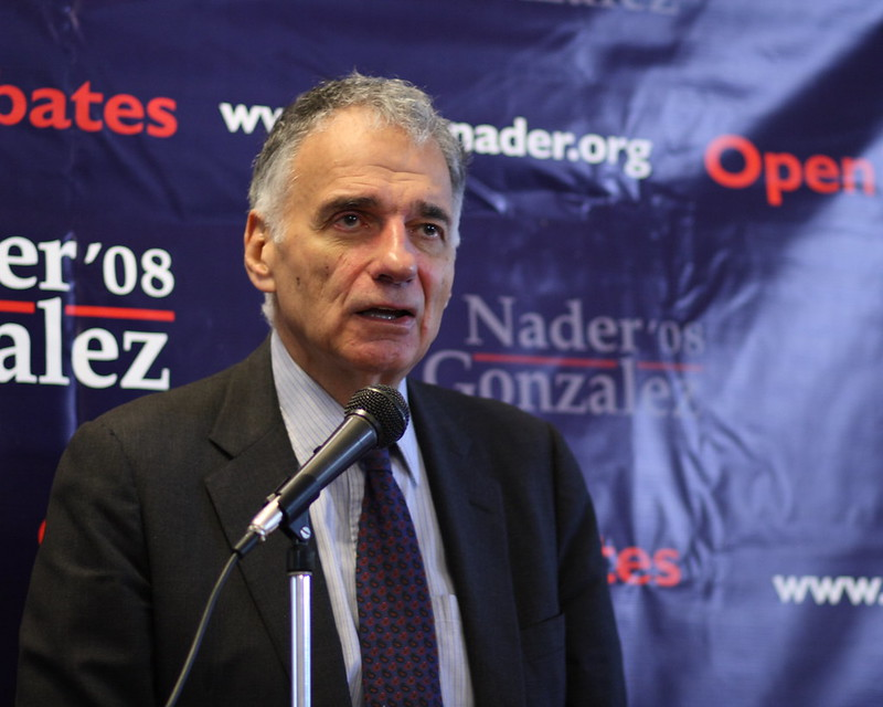 Ralph Nader: Both Parties' Elites Have Failed Us