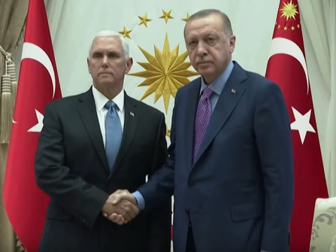 U.S., Turkey Agree on Turkish Cease-Fire with Syrian Kurds
