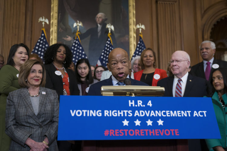 House Passes 'Historic' Bill to Restore and Expand Voting Rights