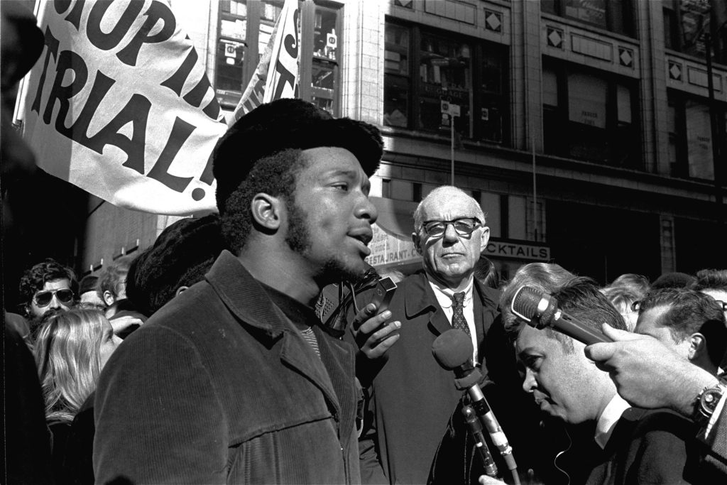 Black Panther and civil rights leader Fred Hampton.