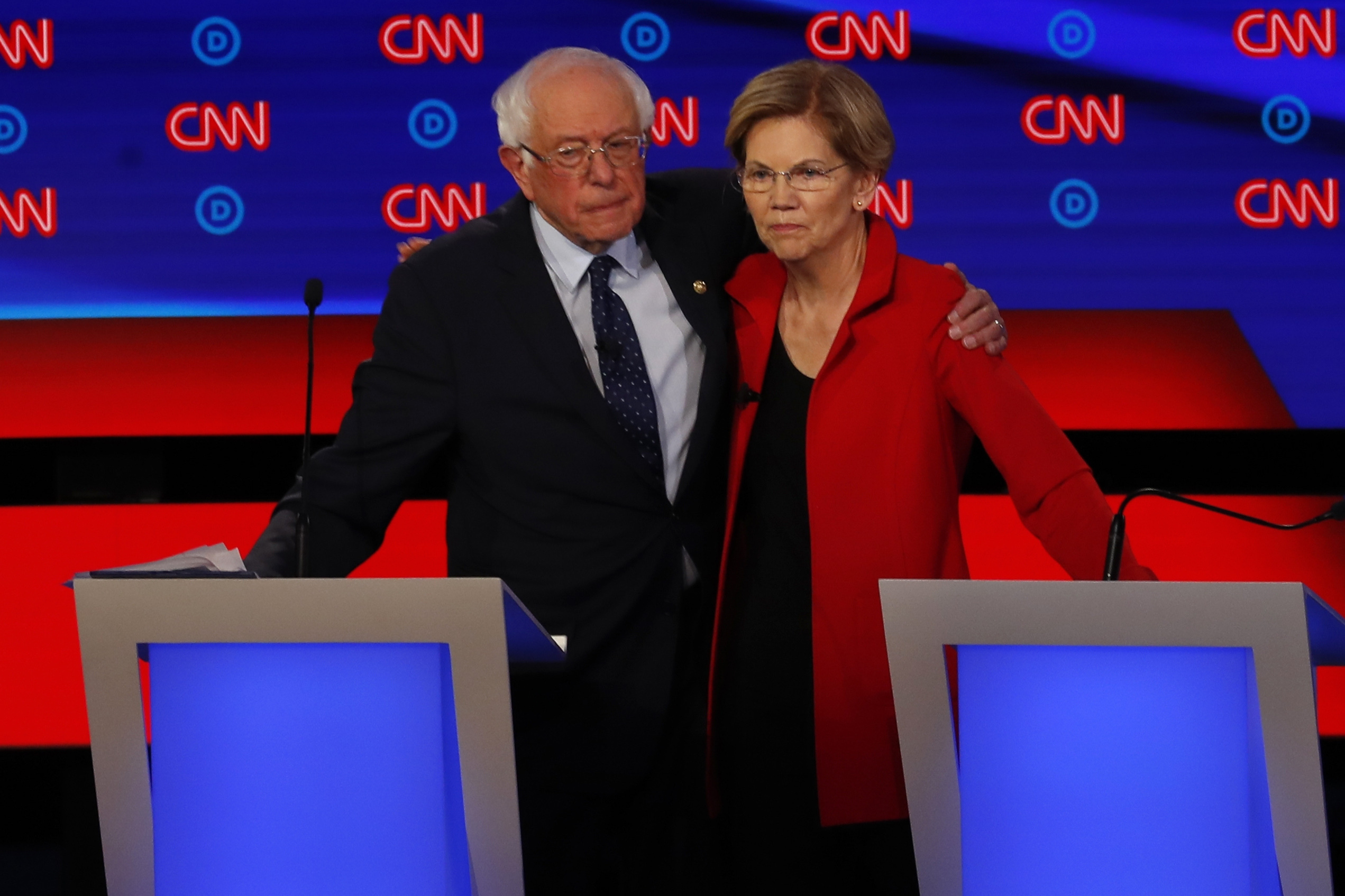 Corporate Democrats Desperately Want a Sanders-Warren Feud